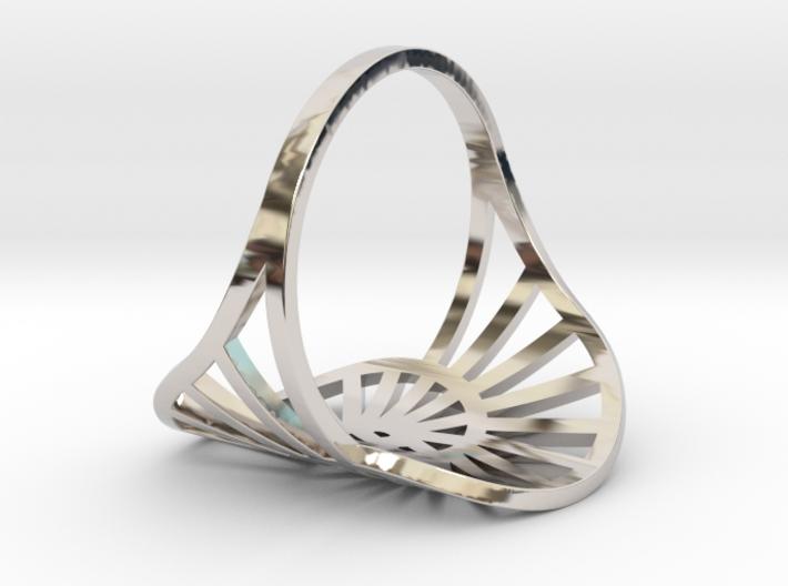 Nautilus Ring Size 7 3d printed