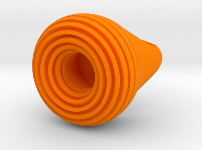 TurbanteRing 3d printed
