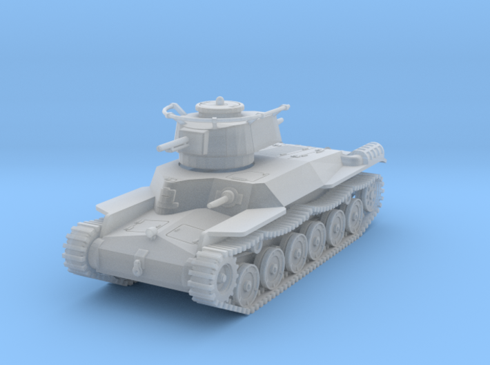 PV52D Type 97 Chi Ha Command (1/87) 3d printed