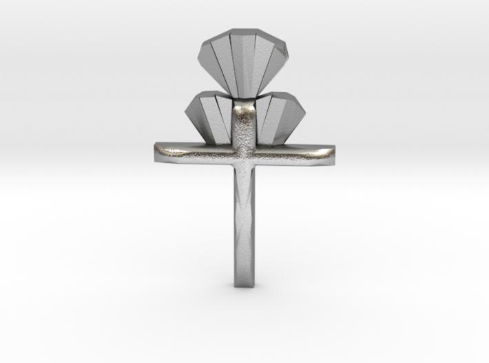 Cross Pendent 3d printed