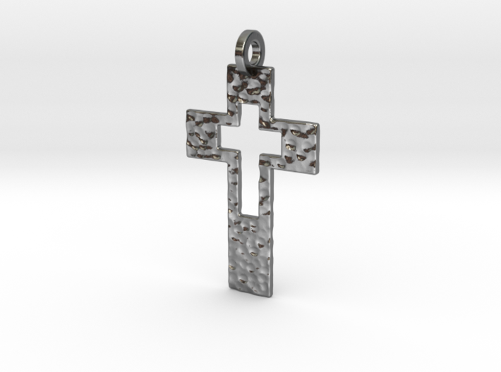 Cross Cutout 3d printed
