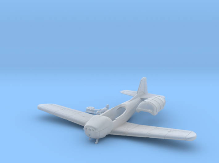 026A Fokker S11 1/144 3d printed