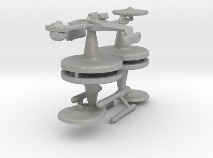 Game piece player ships 3d printed