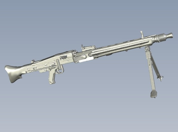 1/15 scale WWII Wehrmacht MG-42 machinegun x 1 3d printed