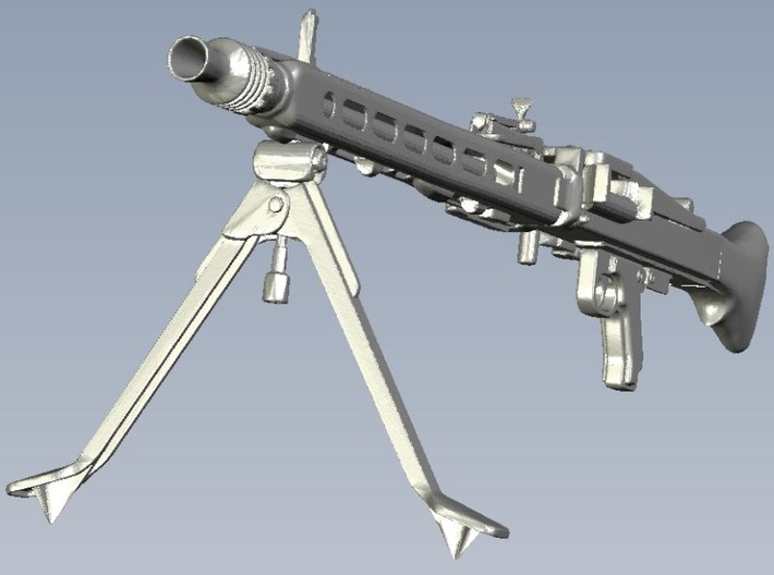 1/20 scale WWII Wehrmacht MG-42 machinegun x 1 3d printed