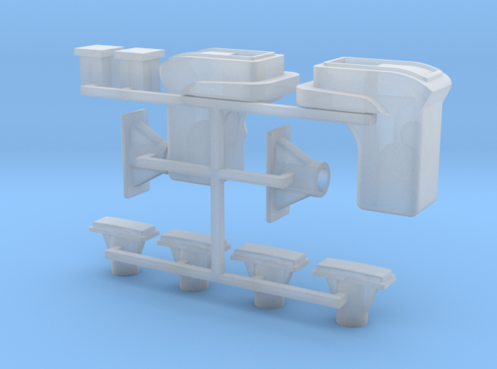068001-00 Tamiya Lunchbox Lens Set 3d printed