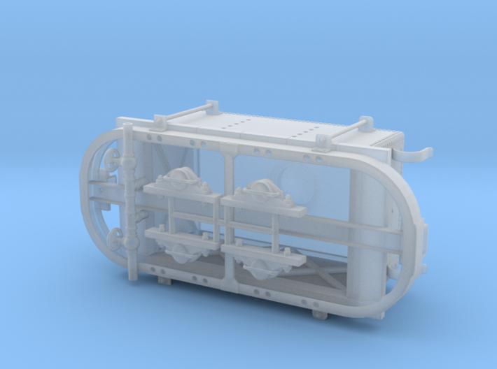 1:32 Hudson Bow Frame Bowser 3d printed