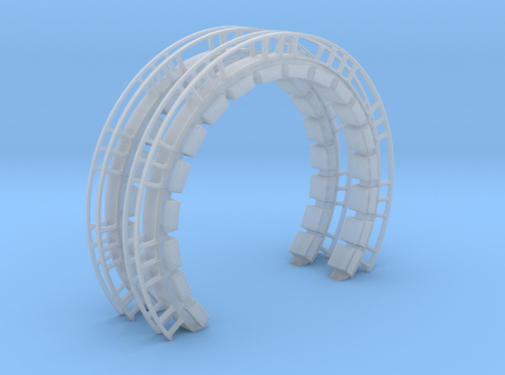 Large Ring With Cushions 2 Pack for DeAgo Falcon 3d printed