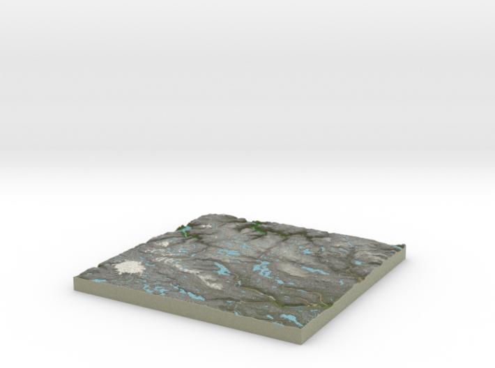 Terrafab generated model Wed Aug 10 2016 19:19:44 3d printed