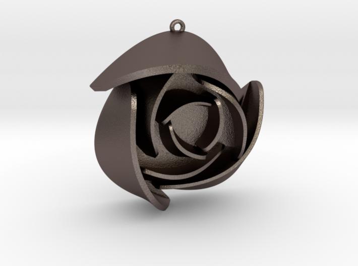 Rose Pendant A 3d printed
