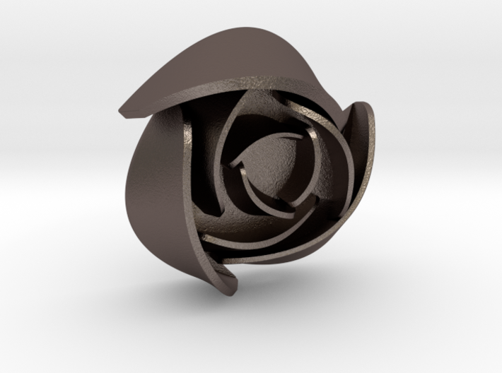 50mm Rose No Hoop 3d printed