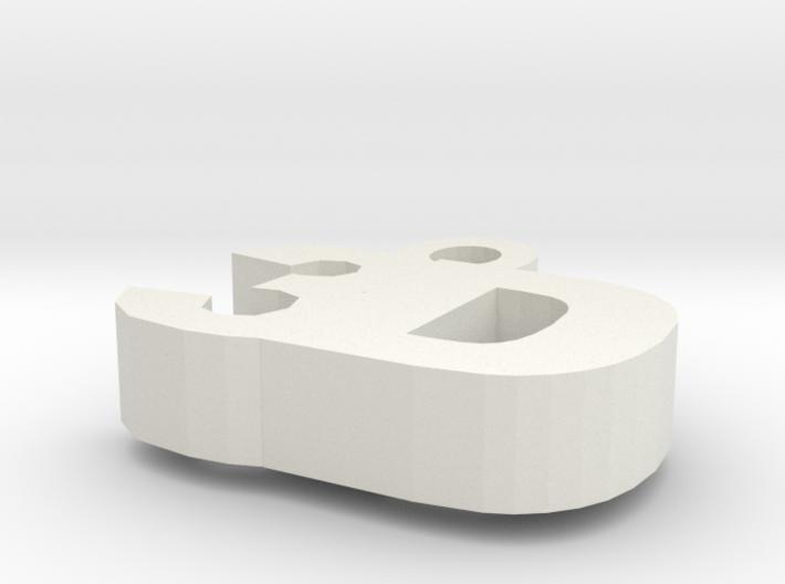 3D Key Fob 3d printed