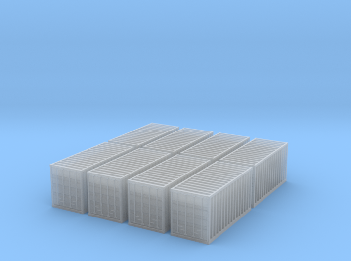 T Gauge 20' Containers 3d printed