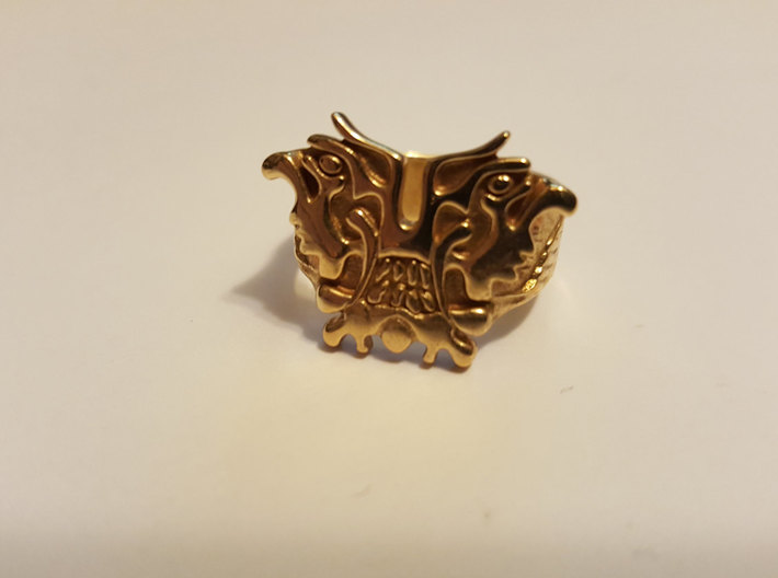 Kaiju Ring, Pacific Rim   size 8 3d printed