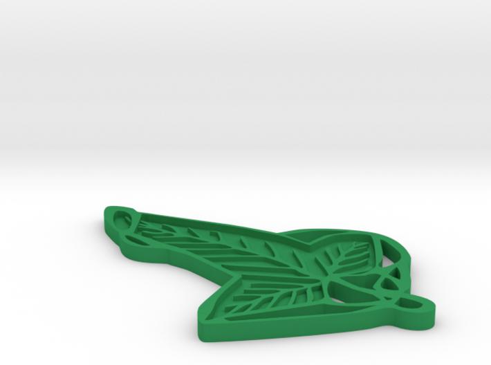 Lorien Leaf 3d printed
