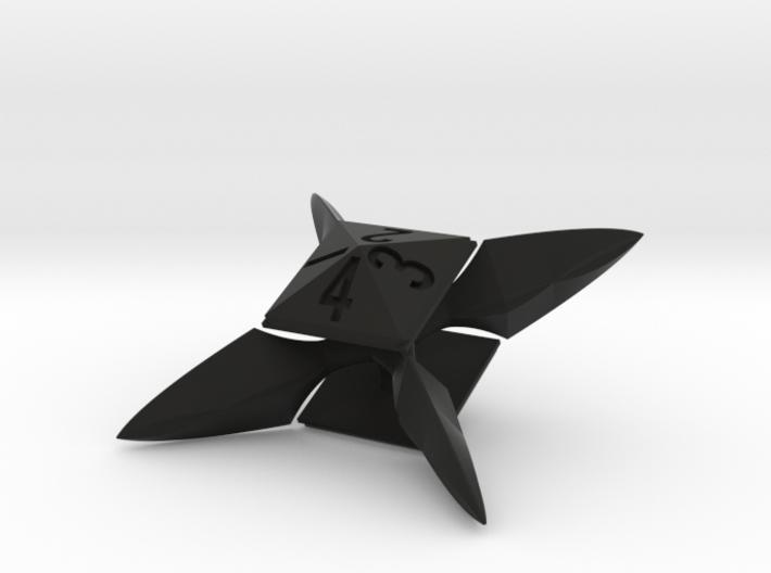 X-blade die (d4 or d8) 3d printed