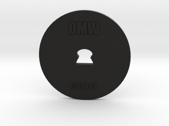 Clay Extruder Die: Footer 008 08 3d printed