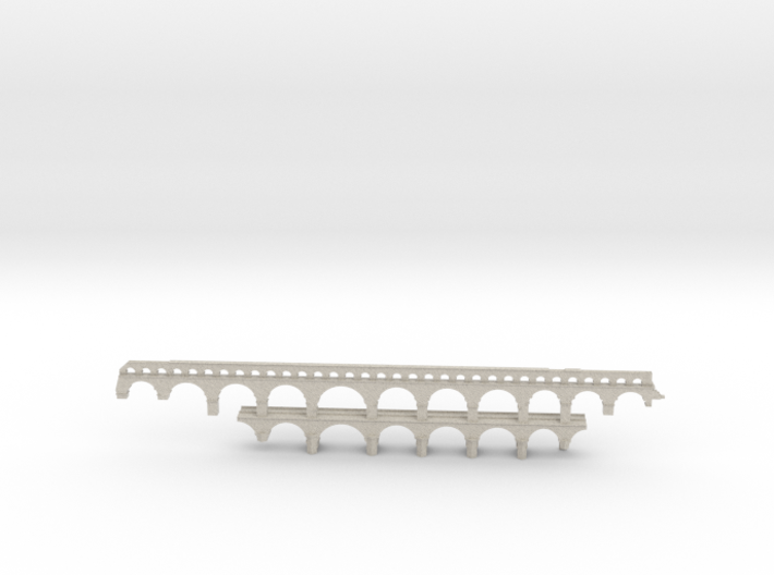 Pont Du Gard Simple 3d printed