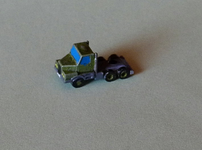 3 Axle Semi-Truck, 3-Achs Zugmaschine 1/285 6mm 3d printed