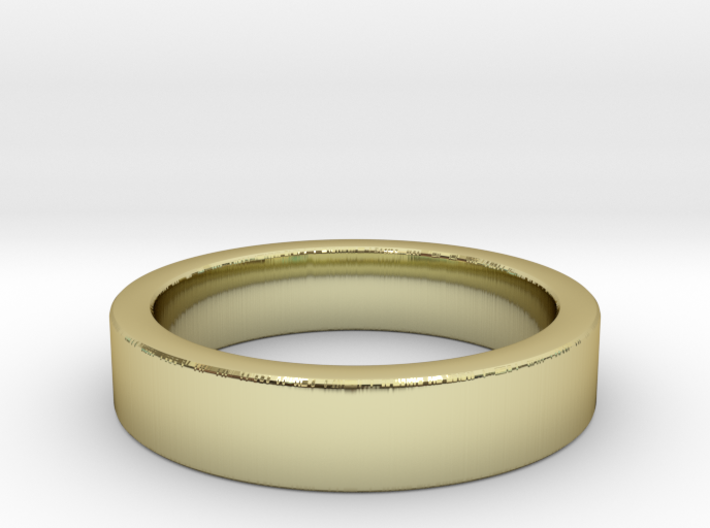 LO Wedding Band, Custom: Size Width Thickness Edge 3d printed