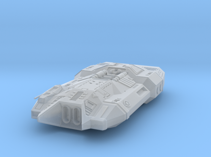 """Kushan """"Thunderbolt"""" Attack Bomber 3d printed"""