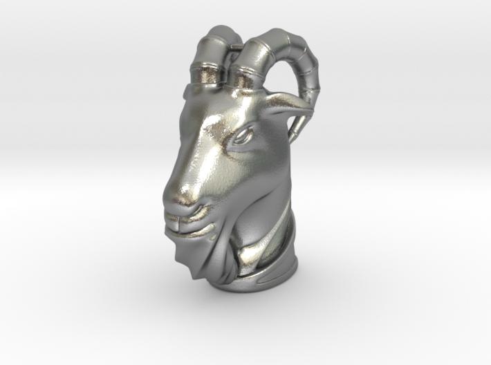 Goat(Pendant) 3d printed