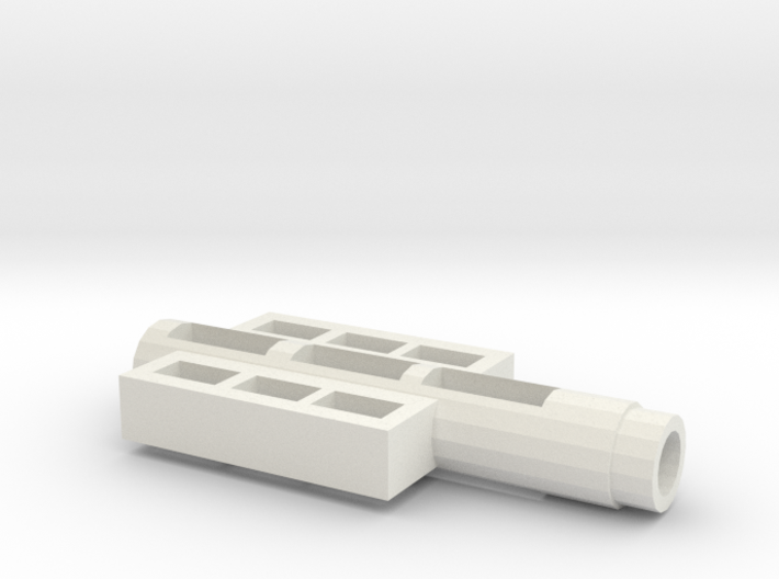 Fortress Maximus Handle Adapter 3d printed