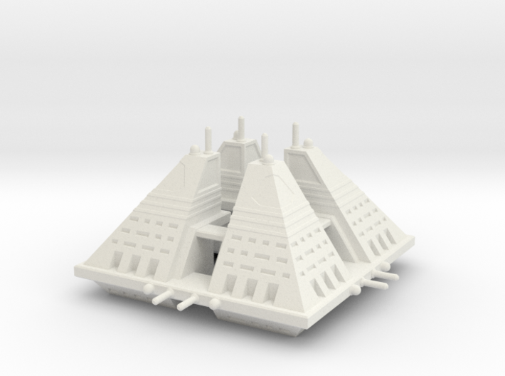 Ngaksu Fortress 3d printed