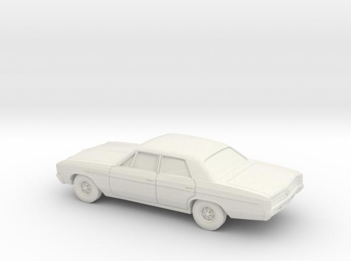 1/87 1965 Buick Skylark Sedan 3d printed
