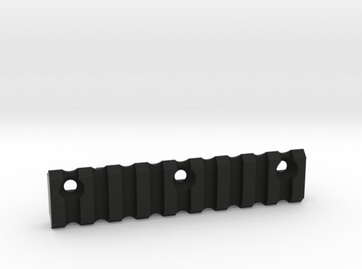 9 slot Keymod side Picatinny rail 3d printed