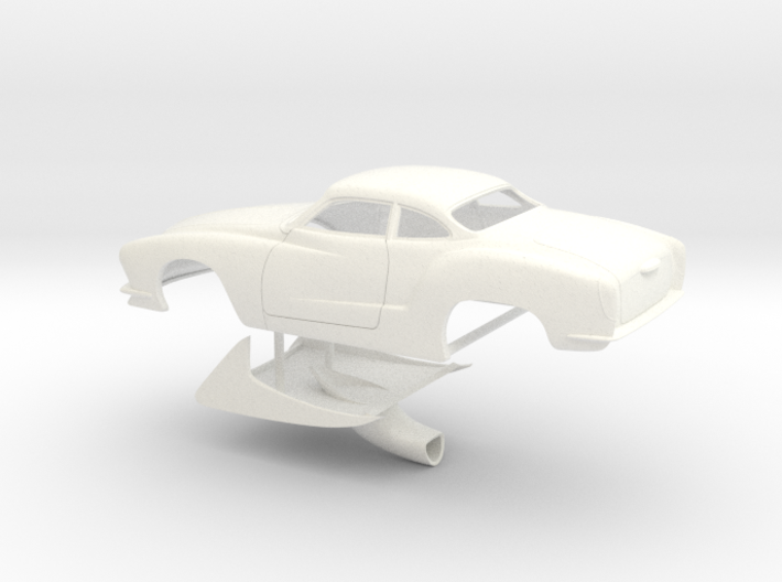 1/25 Legal Pro Mod Karmann Ghia 3d printed