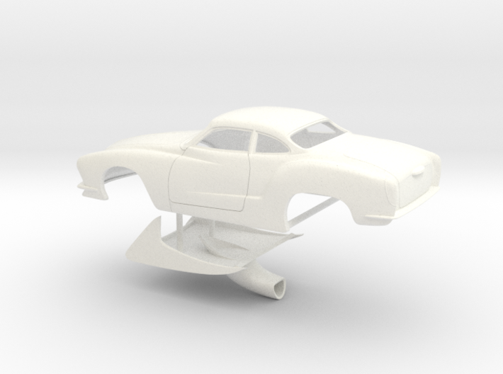 1/32 Legal Pro Mod Karmann Ghia 3d printed