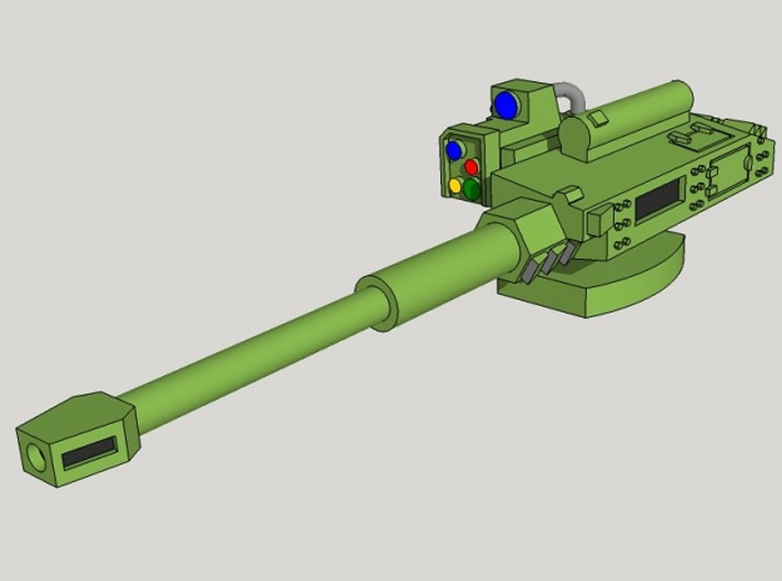 15mm Remote Anti-Tank Gun 3d printed