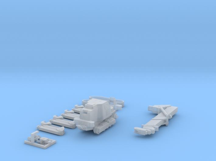 1:50 Mini Crawler Crane Set A kit 3d printed
