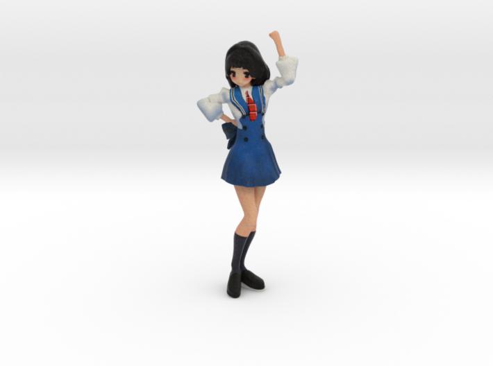 Japanese figure AKARI 3d printed