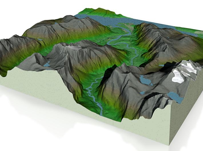 Terrafab generated model Thu Nov 07 2013 12:38:44 3d printed