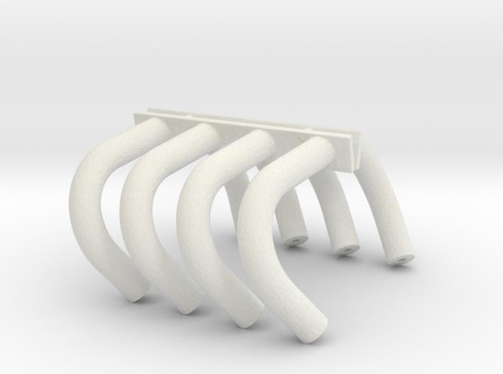 Altered Headers 1/24 3d printed
