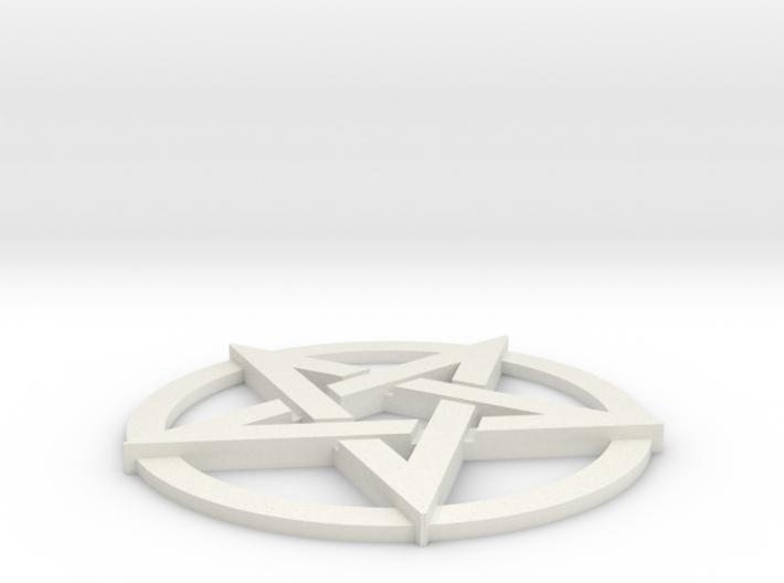 Pentacle 3d printed