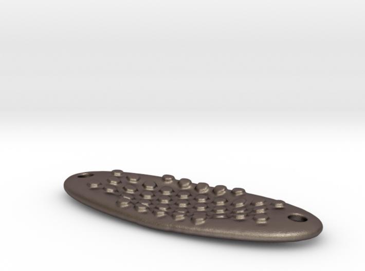+fishing lure octagonal bumps thin 3d printed