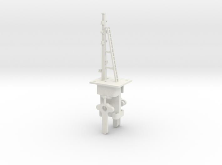 16ft K & ESR HO LQ Signal 3 Arms 3d printed
