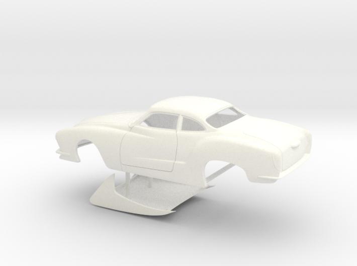1/25 Legal Pro Mod Karmann Ghia No Scoop Small WW 3d printed