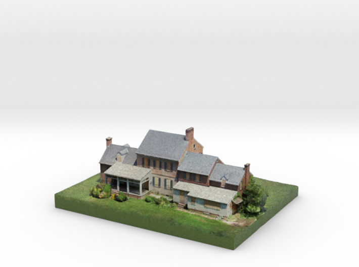 Whites Hall 3d printed