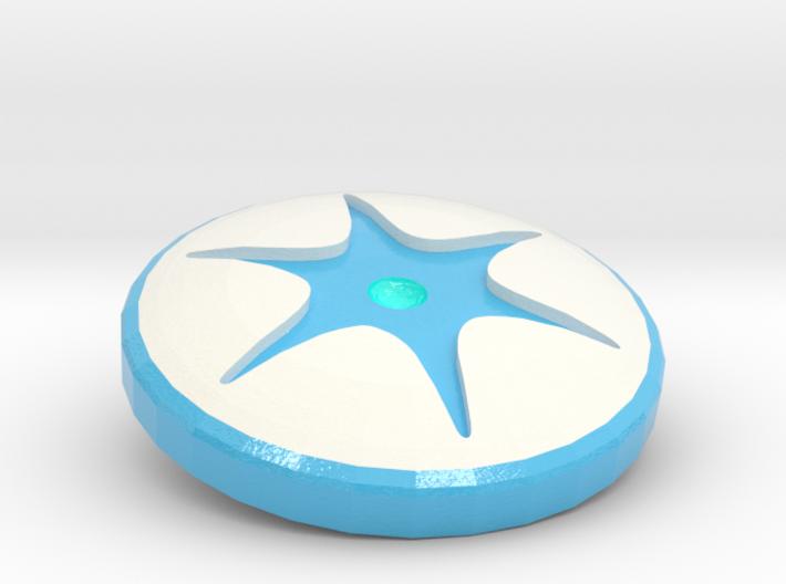 Engraved Shapeways Team - Supernova Soccer 3d printed