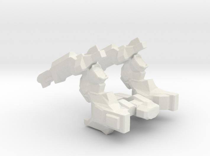 Cargo Crusher Spaceship 3d printed