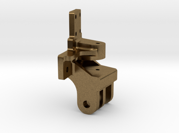 "3/4"" scale smoke box door hinge 3d printed"