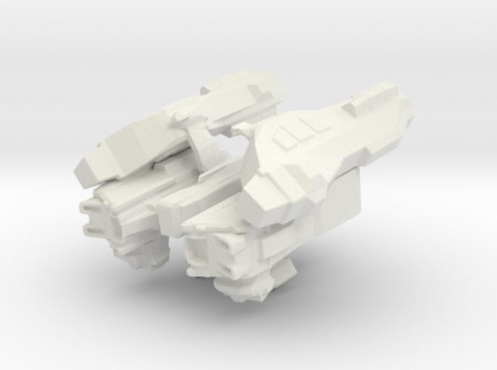 Cargo Storm Apollo Spaceship 3d printed