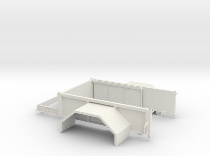 Expedition Bed 3d printed