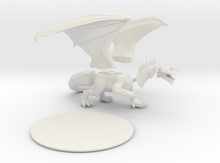 Black Dragon (Updated) 3d printed