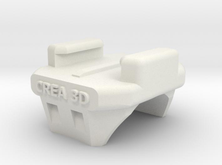 GoPro Handlebar Mount Crea3D 3d printed