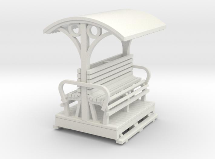 55n9 Longitudinal seat open coach short 3d printed